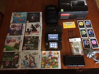 Nintendo 3DS Black Amazing bundle