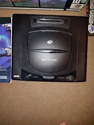 Sega Saturn Black Console