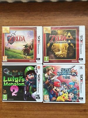 4 Nintendo 3ds games