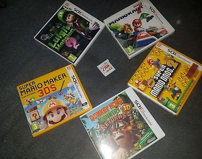 6 3DS Games - Mario, Zelda and more