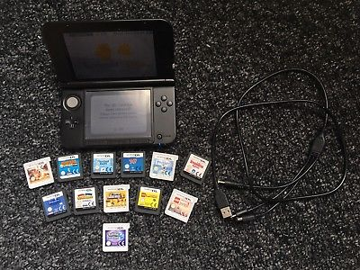 Nintendo 3DS XL Pokemon Moon Games Bundle